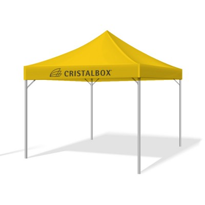 Carpa plegable Cristalbox